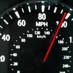 Caught speeding and more than 100mph