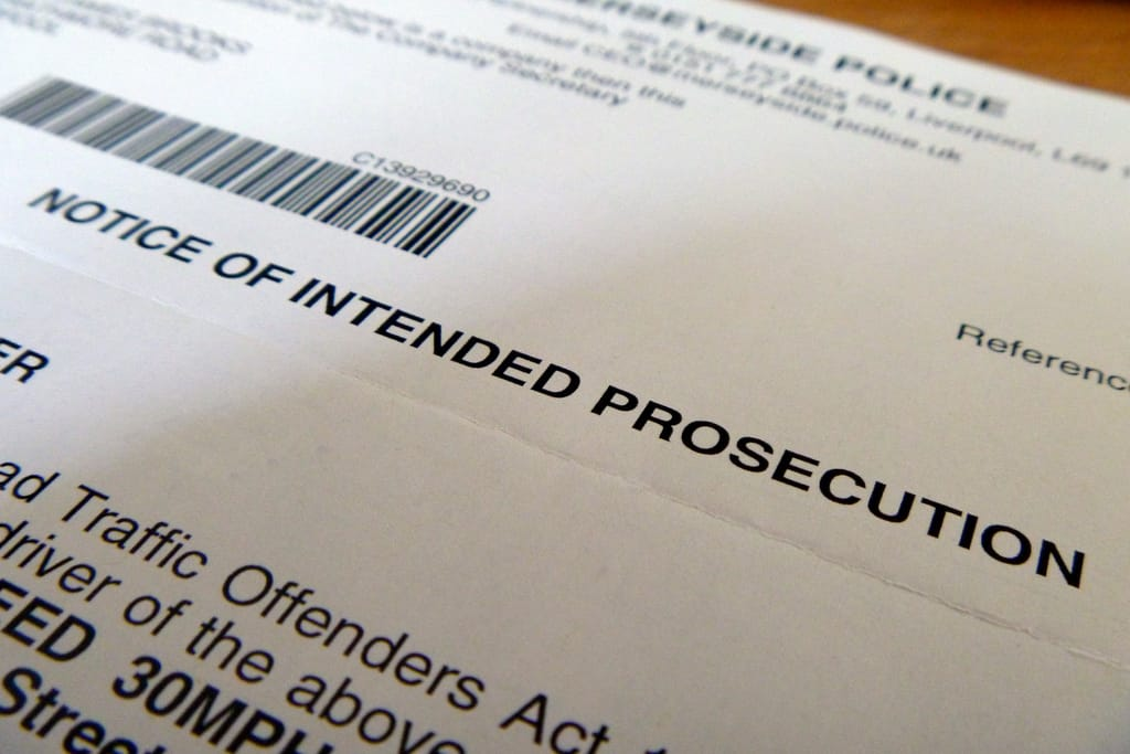 Notices of Intended Prosecution (NIPs)