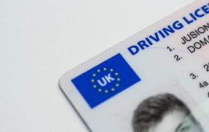 Early return of UK Driving Licence