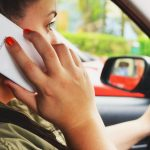 Cell phone, mobile, driving using a phone,