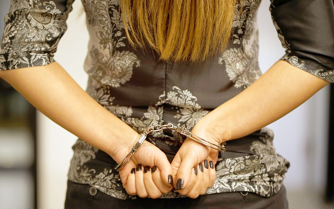woman in cuffs